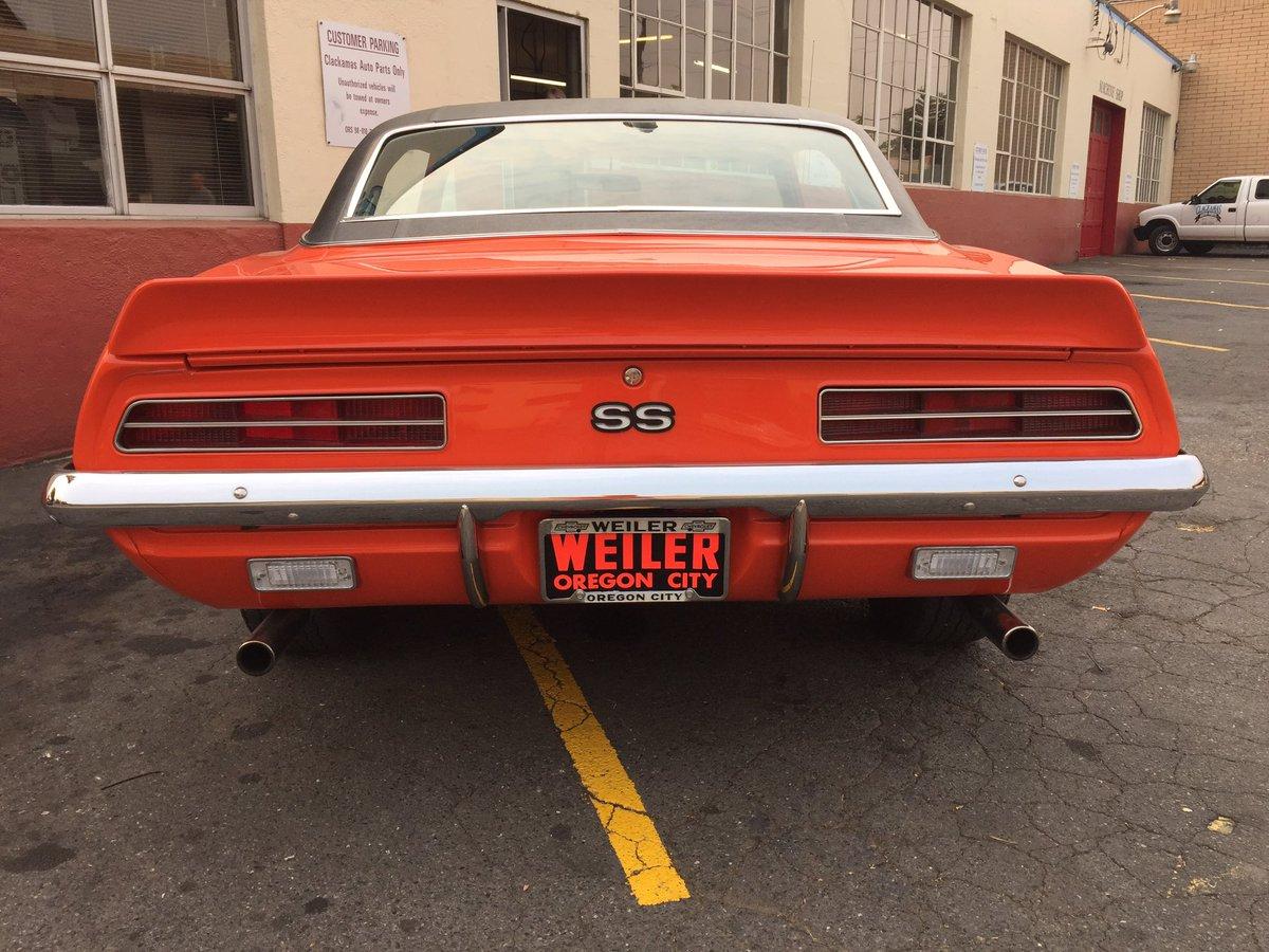 Chevrolet Auto Parts >> Clackamas Auto Parts On Twitter A 1969 Chevy Camaro Clackamasap