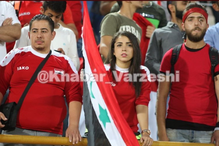 Image result for syrian women in iran soccer stadium