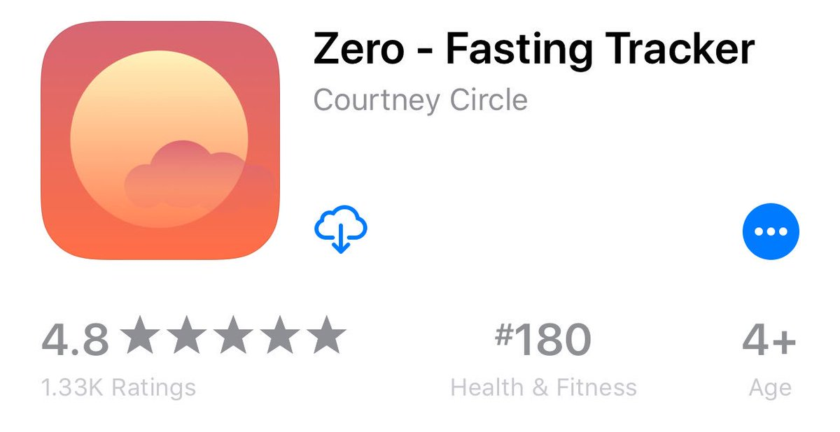 Kevin rose on twitter 19m fasts since launching my app zero in give it a try its free httpsitunesleusappzero fasting trackerid1168348542mt8 picittersql1ix5w8p ccuart Gallery