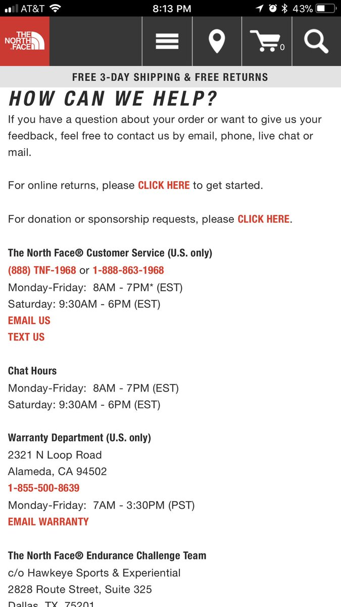 size 7 best sale best prices The North Face on Twitter: