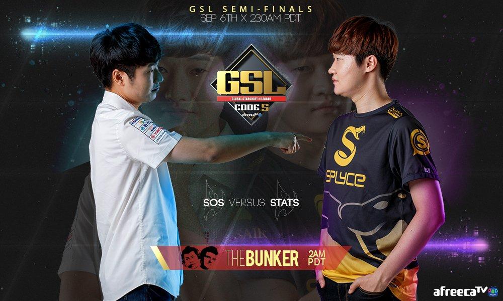 2017 GSL Code S 3. Szezon elődöntők 1. nap