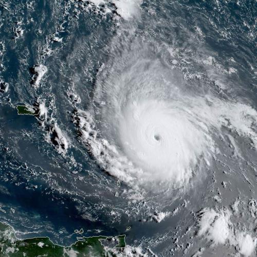 Furacão Irma é o mais poderoso já registrado no Atlântico https://t.co/1JY8wchcJE