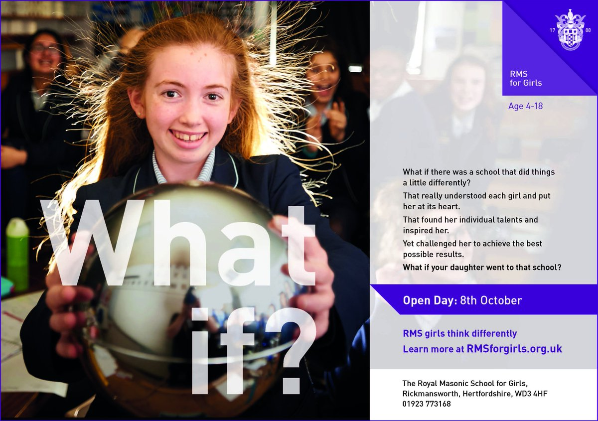 The Royal Masonic School For Girls On Twitter Rms Open Day Sunday