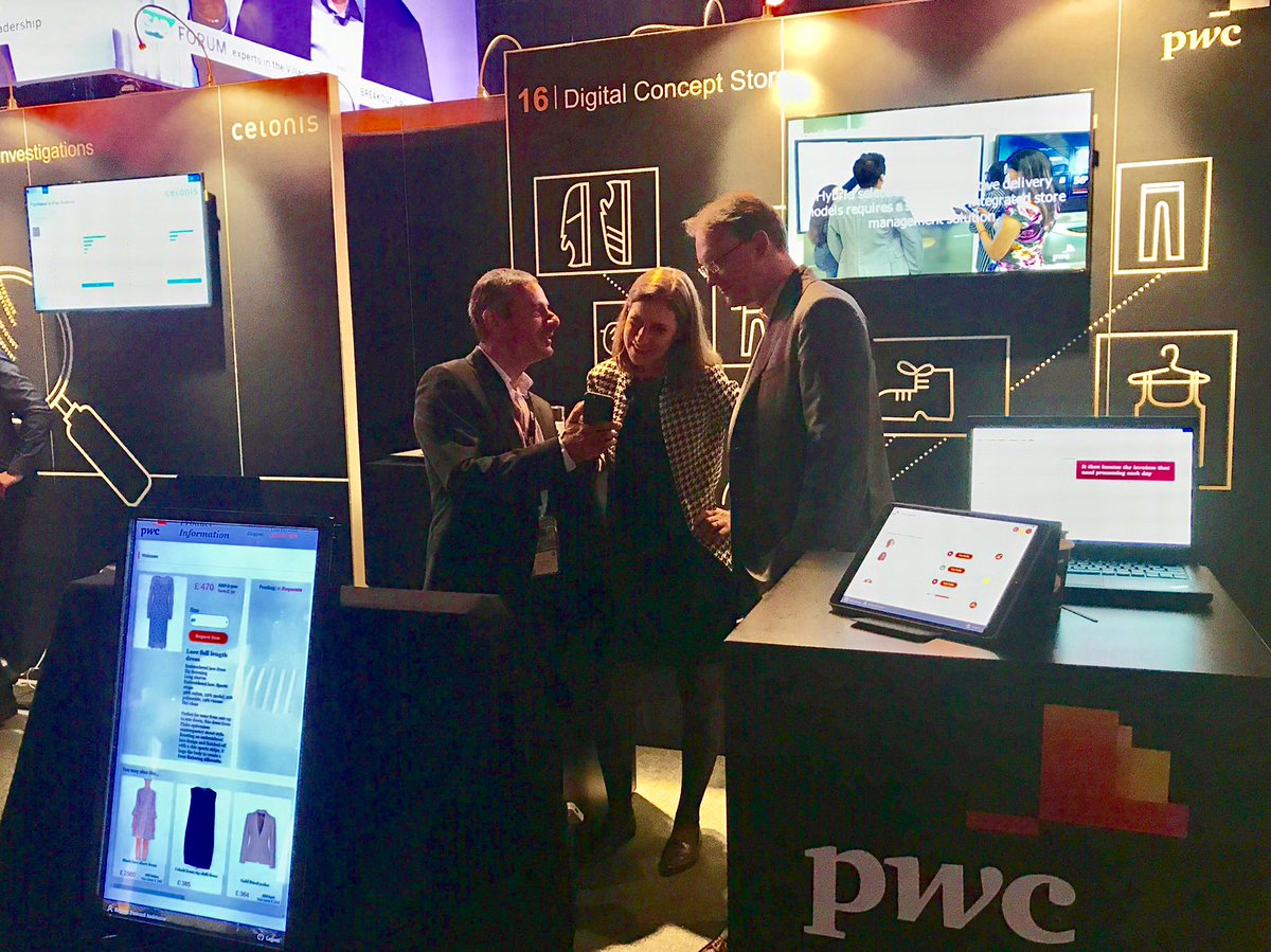 """We're live from #sapforum 2017 """"The Digital Shift"""". This year we're showcasing our digital concept store items to our clients and visitors."""