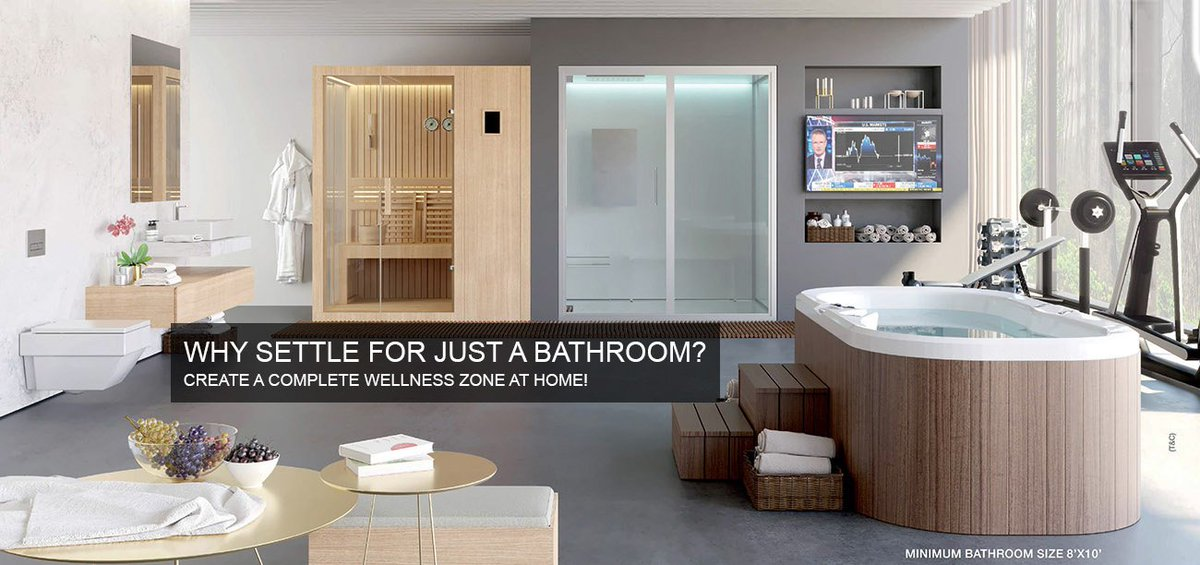 Jaquar On Twitter Why Settle For Just A Bathroom Create Complete Wellness Zone At Home Click Now Https T Co Fwe7iirwo2 Completebathroomsolutions