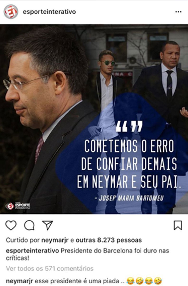 """Vives (Barca spokesperson): """"Those demanding Bartomeu to resign on twitter are not from Catalonia, but from other countries."""" DJBOyLcXcAAAs4p"""