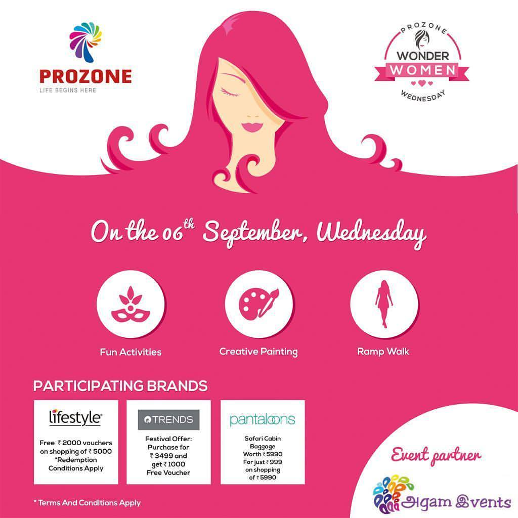 Wonder Woman Wednesday is back at #ProzoneMallCoimbatore