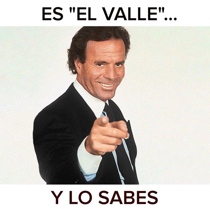 El valle que se llamaba