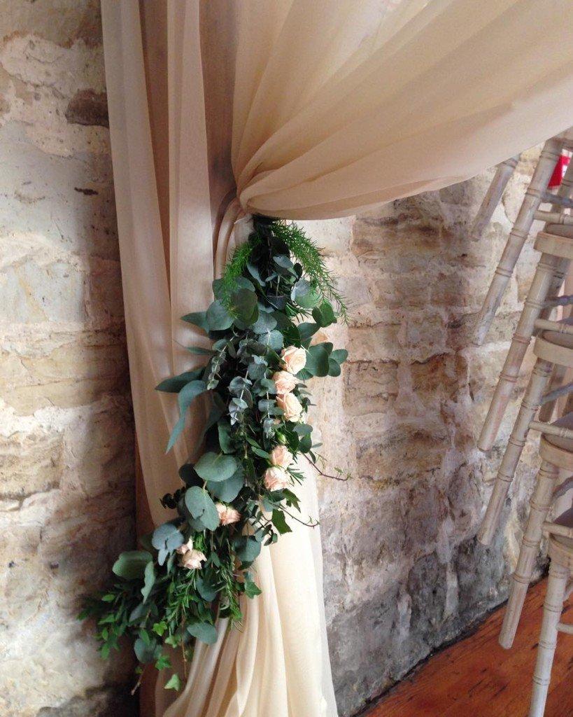 #floral #tieback #curtain #wedding. Pretty it up! #underthefloralspell #fineartflowers #dsfloral #botanicalpickmeu…  http:// ift.tt/2gFGtU4  &nbsp;  <br>http://pic.twitter.com/Lg3ONWz0tJ