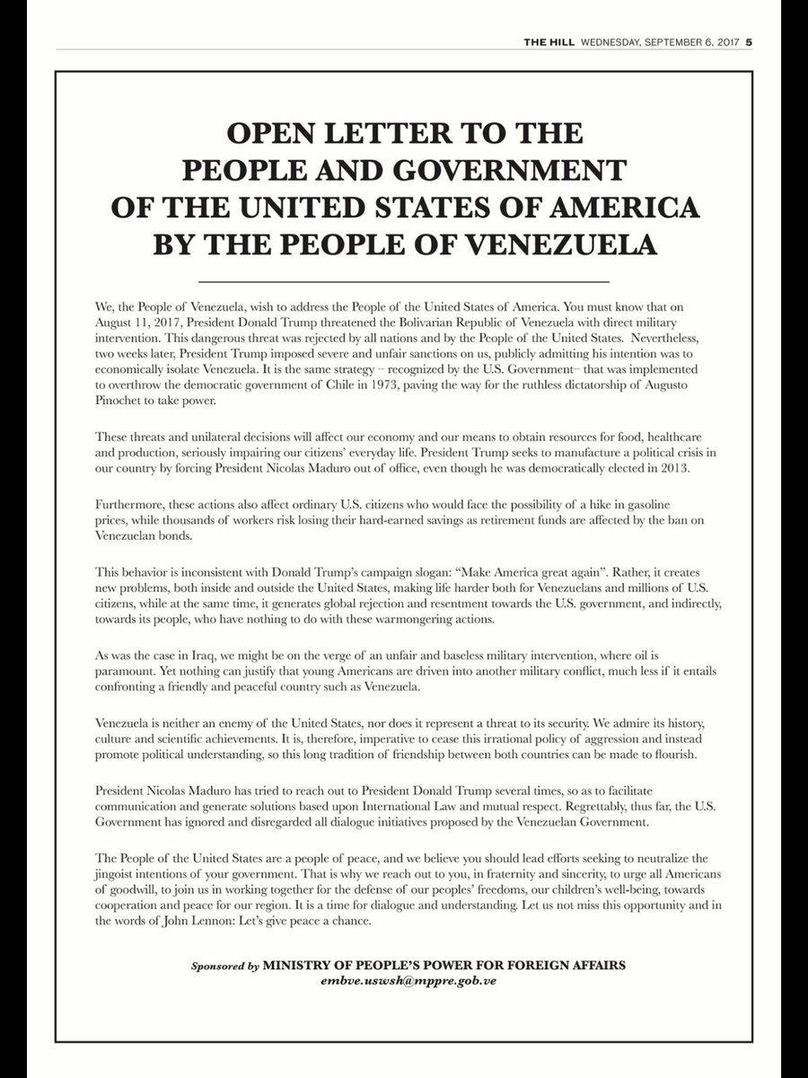 Agresión estadounidense a Venezuela - Página 7 DJC502EWAAA2prK