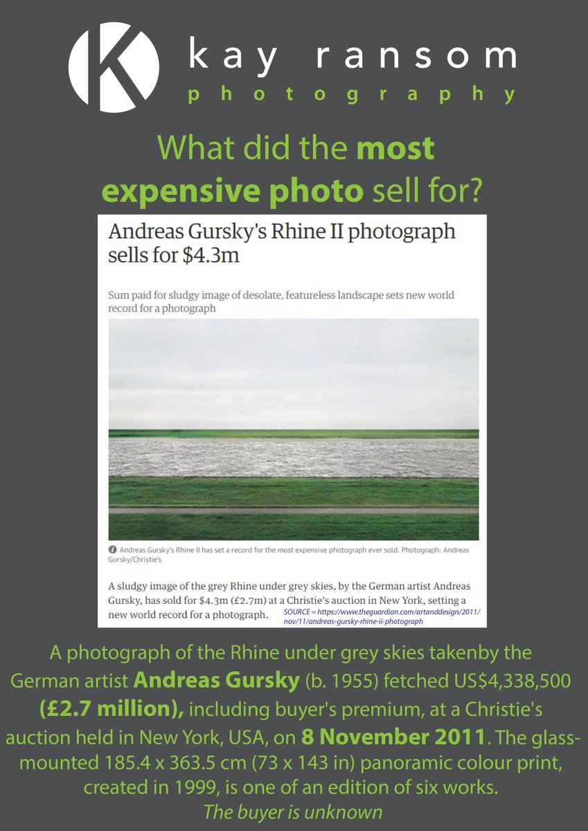 most expensive photograph ever sold