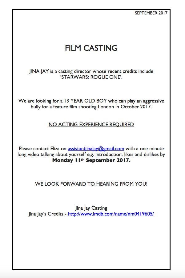 Jina jay casting agency