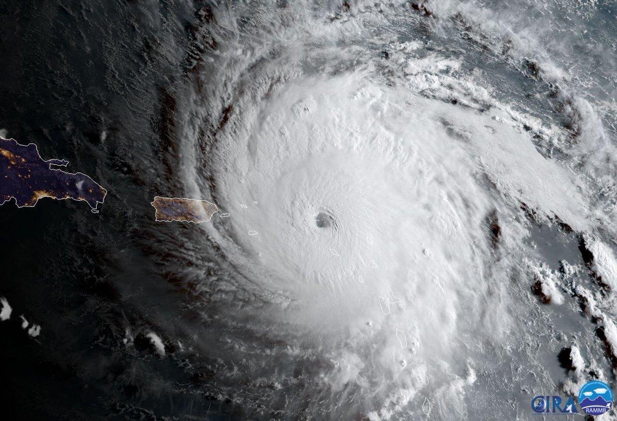 Ya golgea Irma a Islas del Caribe
