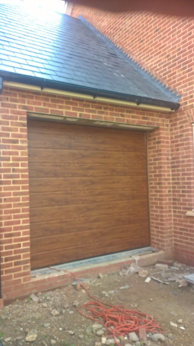 garage white door smooth gd bicester flush elite in sectional