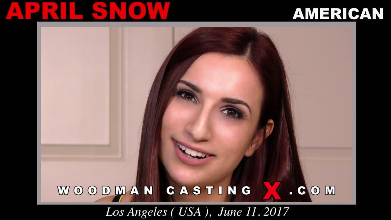 Woodman Casting X on Twitter: [New Video] April Snow