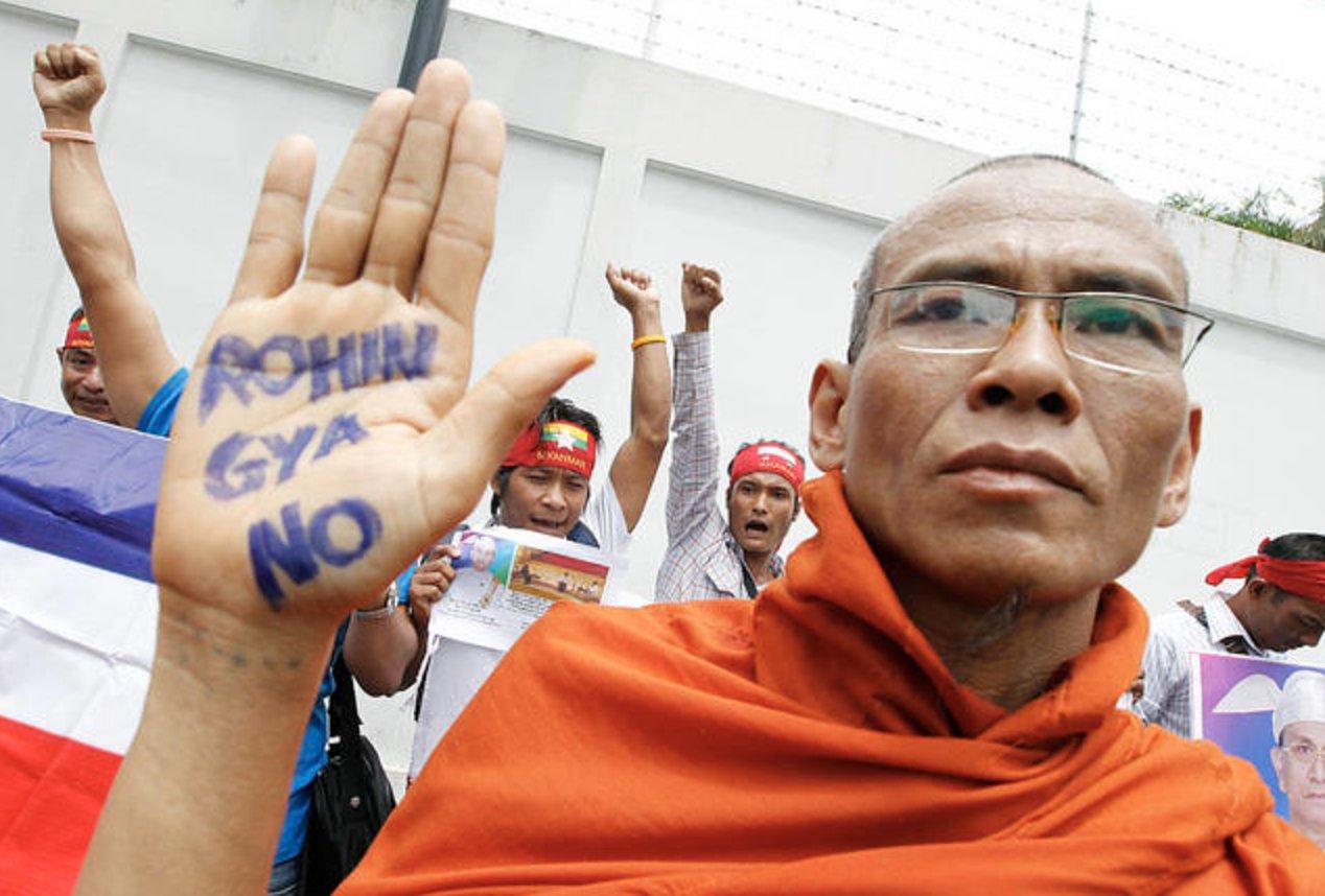 Картинки по запросу killing muslim in myanmar