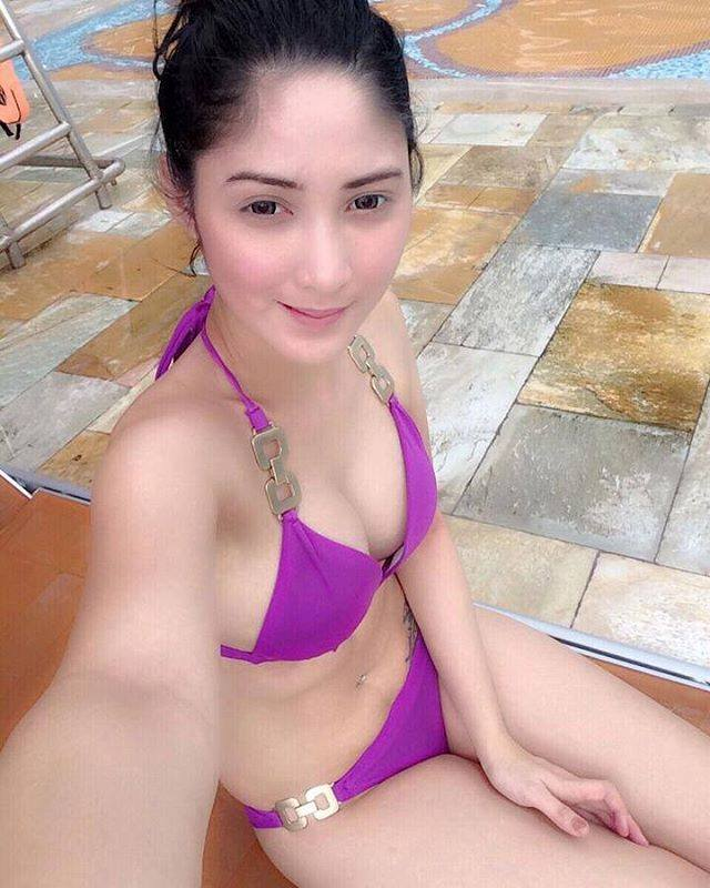 Asian bikini beach think already