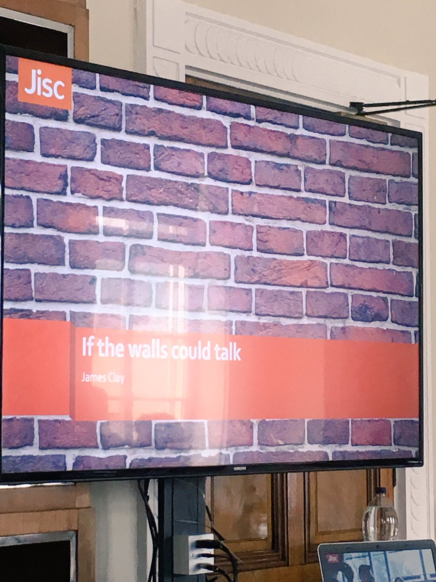If the walls could talk @jamesclay #altc https://t.co/n89SlXuLiT