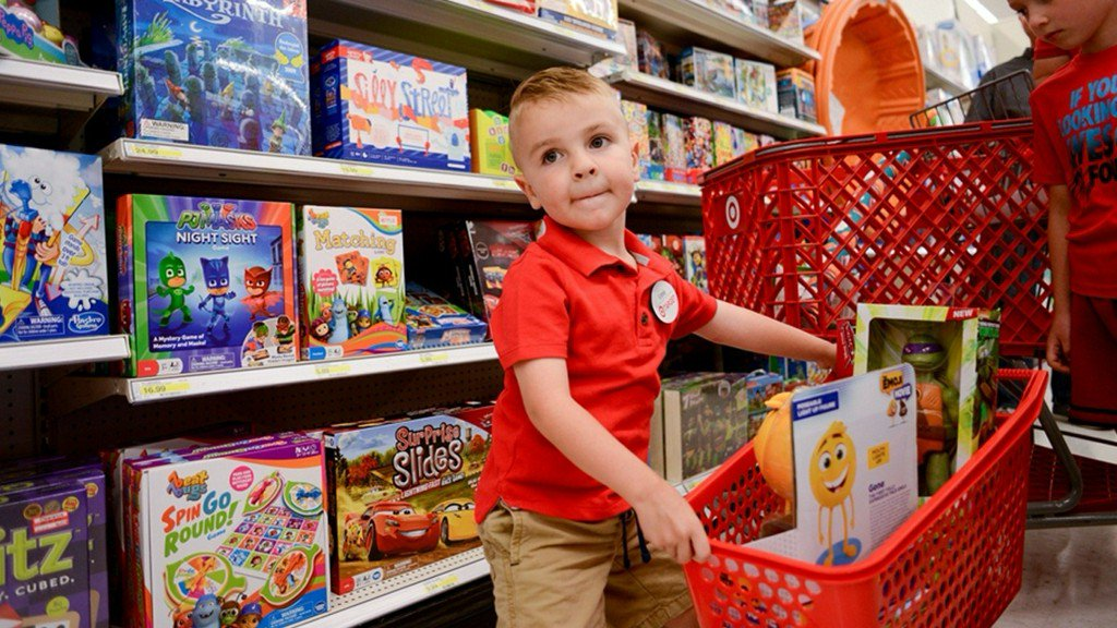 Boy with joint condition celebrates birthday where he learned to walk: at Target https://t.co/s5aOIJgB3K