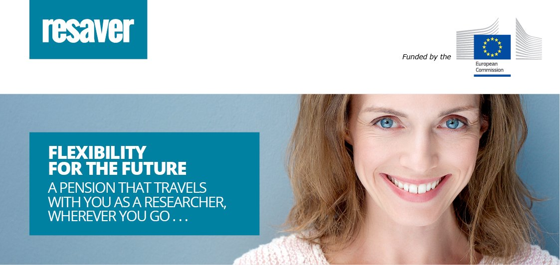 #RESAVER: the best supplementary pension option for mobile #researchers in the  research sector  http:// goo.gl/7AAcH3  &nbsp;   #EUresearchcareers <br>http://pic.twitter.com/2mK3UCP3pe