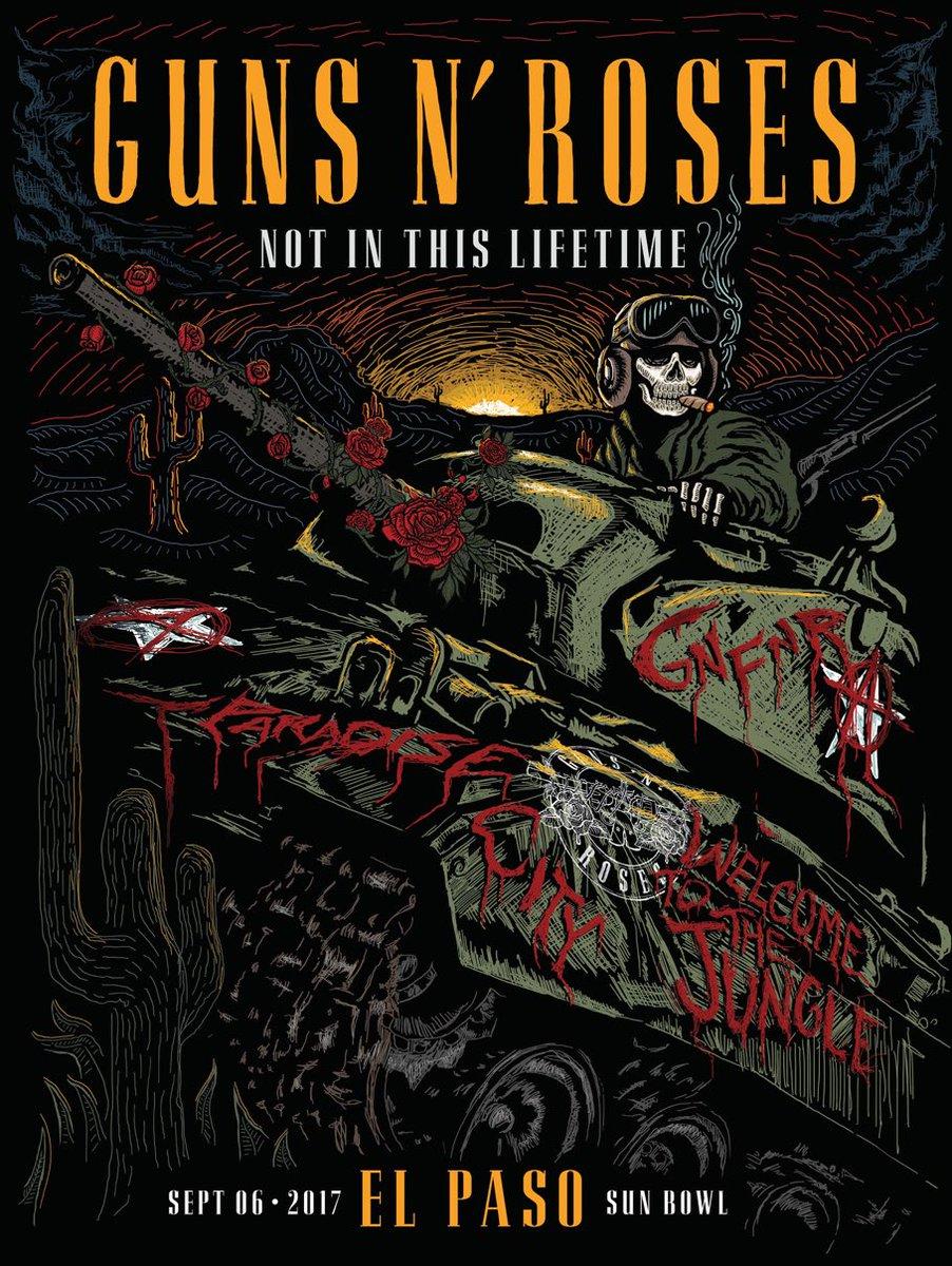 Guns Roses Us Tour  In New York
