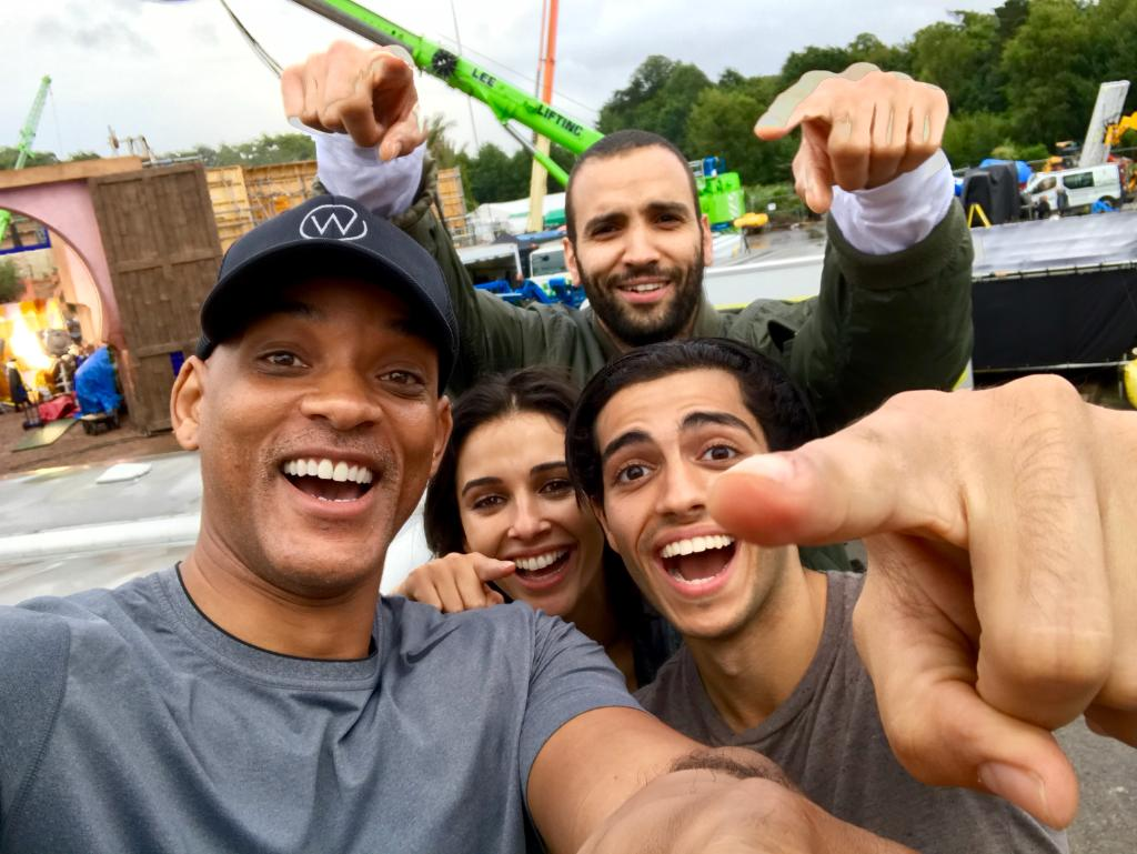Aladdin: Will Smith Shares First Cast Photo, Sultan Reportedly Cast