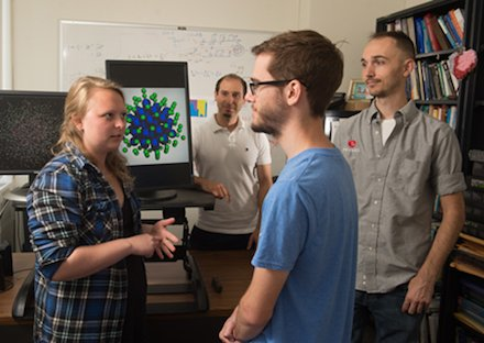 Prof. Ackad and students @SIUE explore new phenomena in the X-ray Regime:  https://www. siue.edu/news/2017/08/S IUE-Physicist-and-Students-Explore-New-Phenomena-in-the-Xray-Regime.shtml &nbsp; …  #Physics #BasicResearch #AFOSRYIP <br>http://pic.twitter.com/VmLFyhxLp9