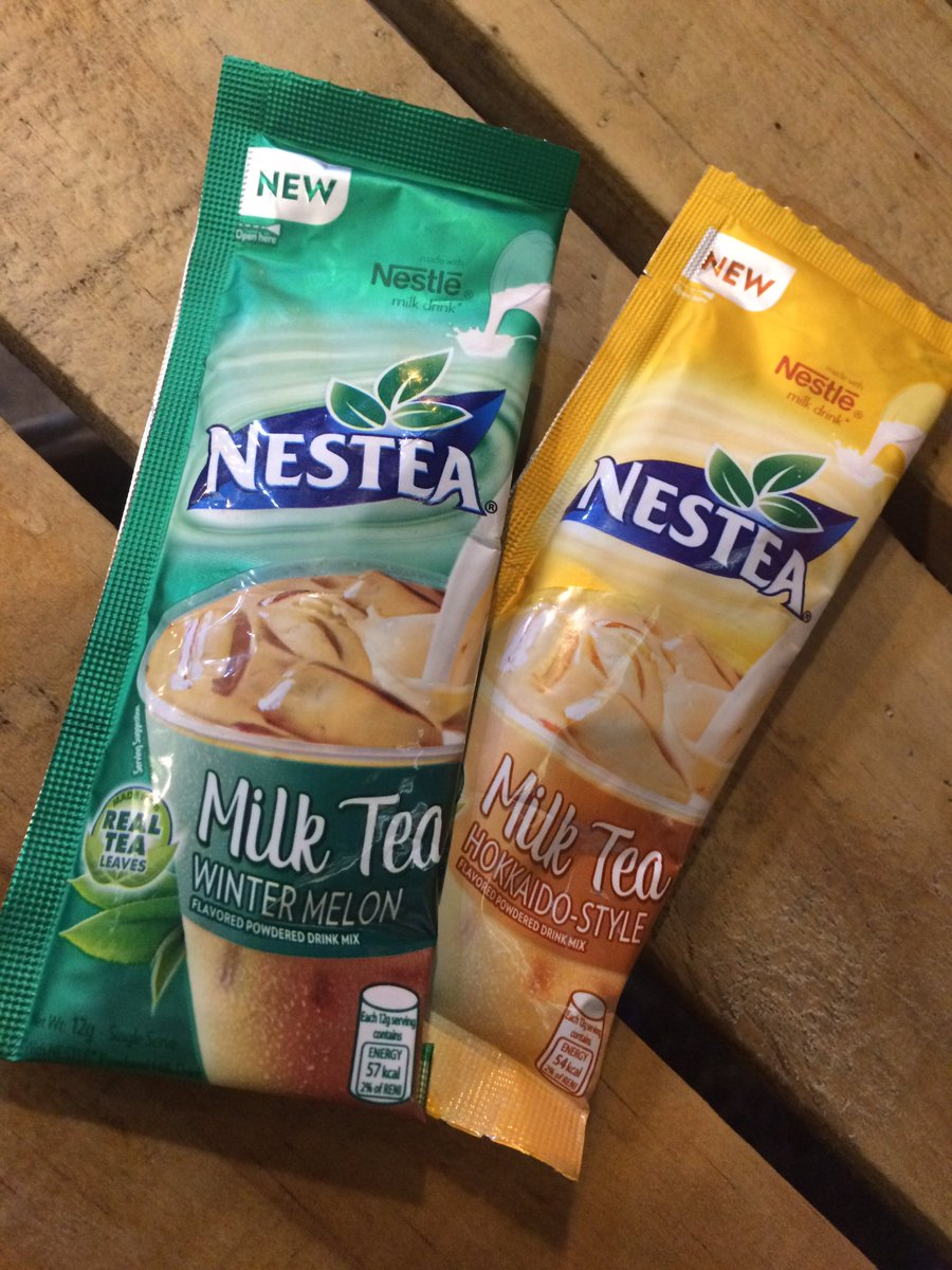 These can actually satisfy your cravings for milk tea, because indeed they are 😋. #nesteamilktea https://t.co/FKo2Sat4qh