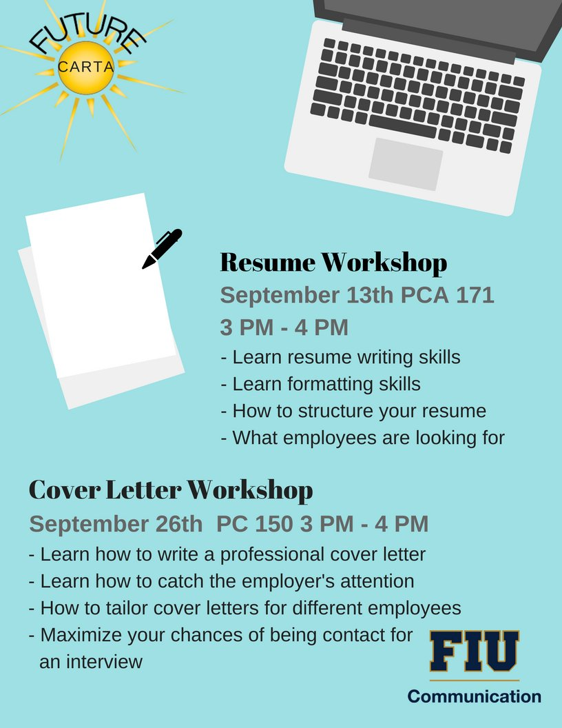 best Events at FIU Career Services Office images on Pinterest     ot technician resume format sample customer service resume