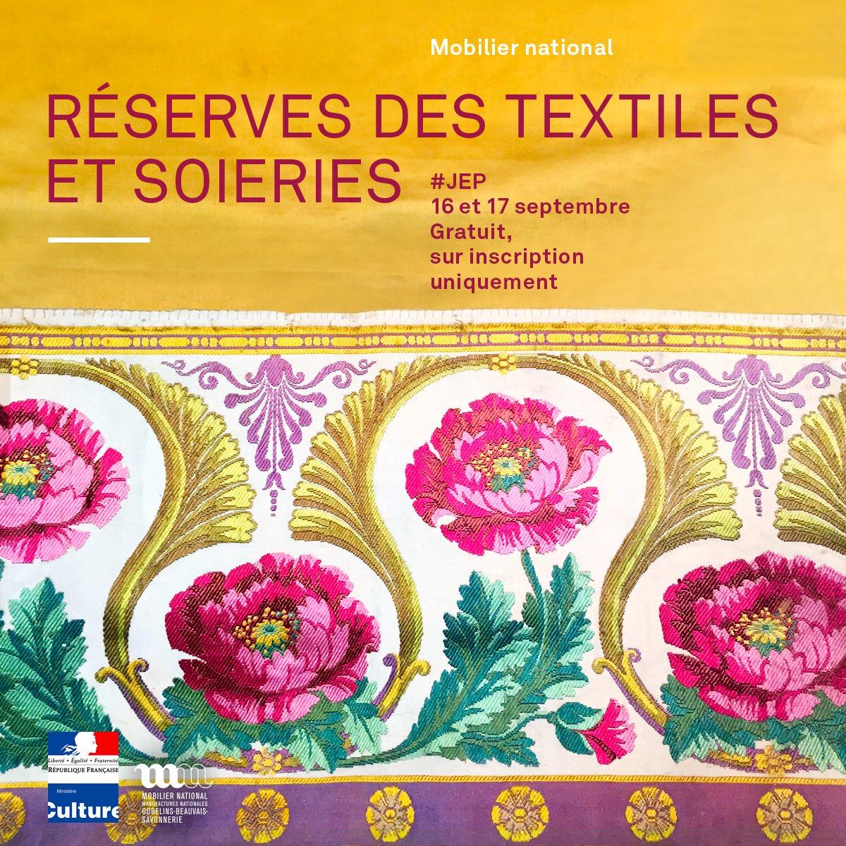 """Manufacture Francaise Des Textiles D Ameublement mobilier national on twitter: """"les modalités d'inscription"""