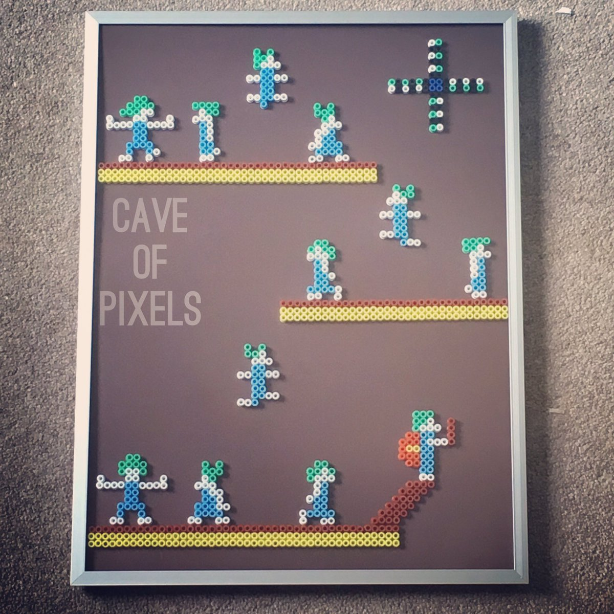 """Cave Of Pixels on Twitter: """"Finally fixed my Lemmings piece! Fact ..."""