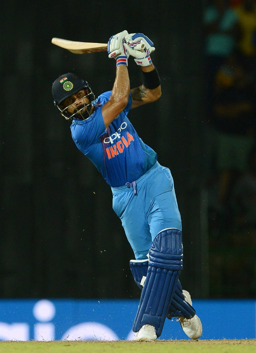Chase master Virat Kohli hits 82 to guide India to a 7 wicket T20I victory over Sri Lanka in Colombo! #SLvIND https://t.co/zZP1L2grsE