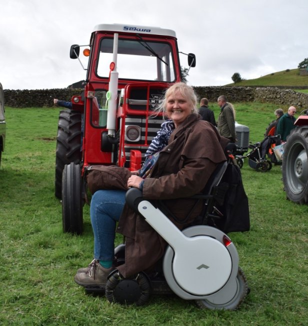 Up close and personal with @yorkshire_dales today #MukerShow @accessTOG @TGAmobility @TgaWhill @AmandaOwen8<br>http://pic.twitter.com/nTnBdX6Ltr