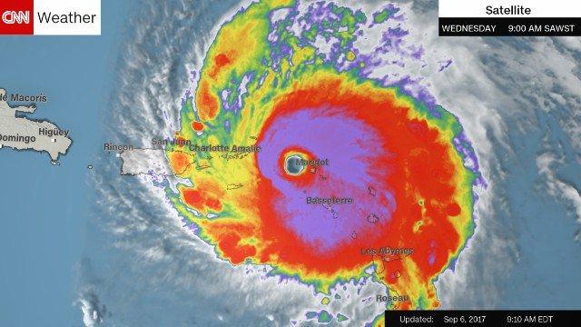 Hurricane Irma destroys 'upwards of 90%' of Barbuda, official tells local media. https://t.co/XmwdBzxCVz