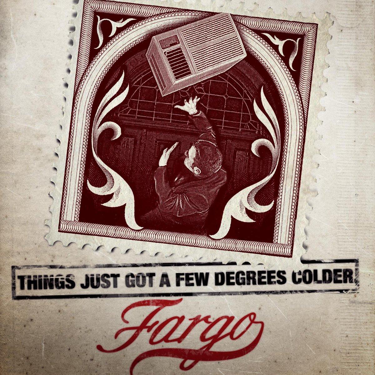 Death by major appliance. #Fargo
