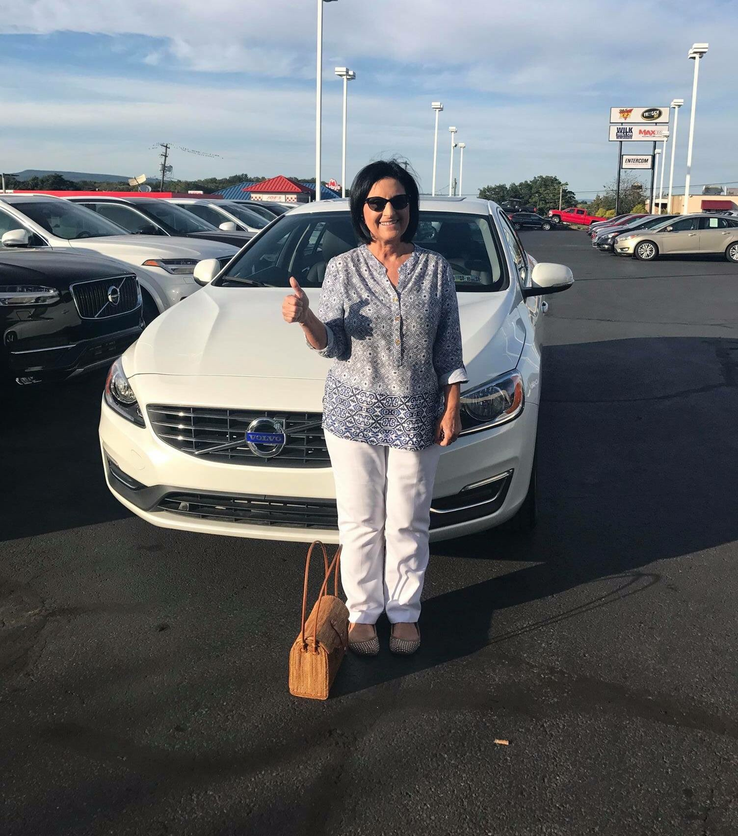 "KPVolvoCars on Twitter "" ThumbsUp Marie Congrats on your new"
