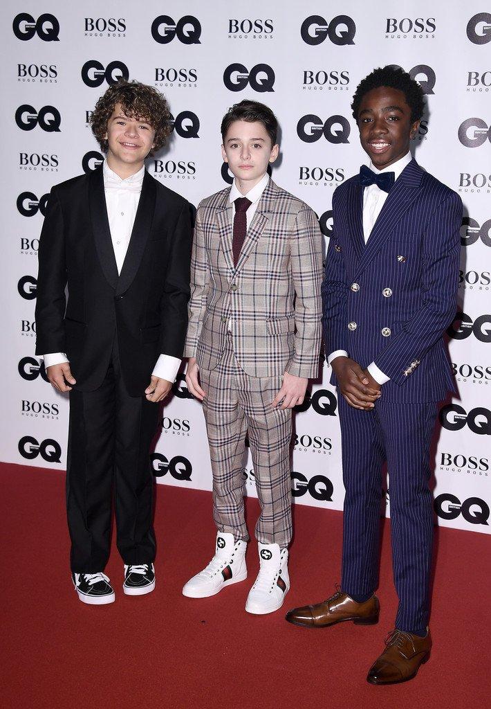 vans shoes with suit