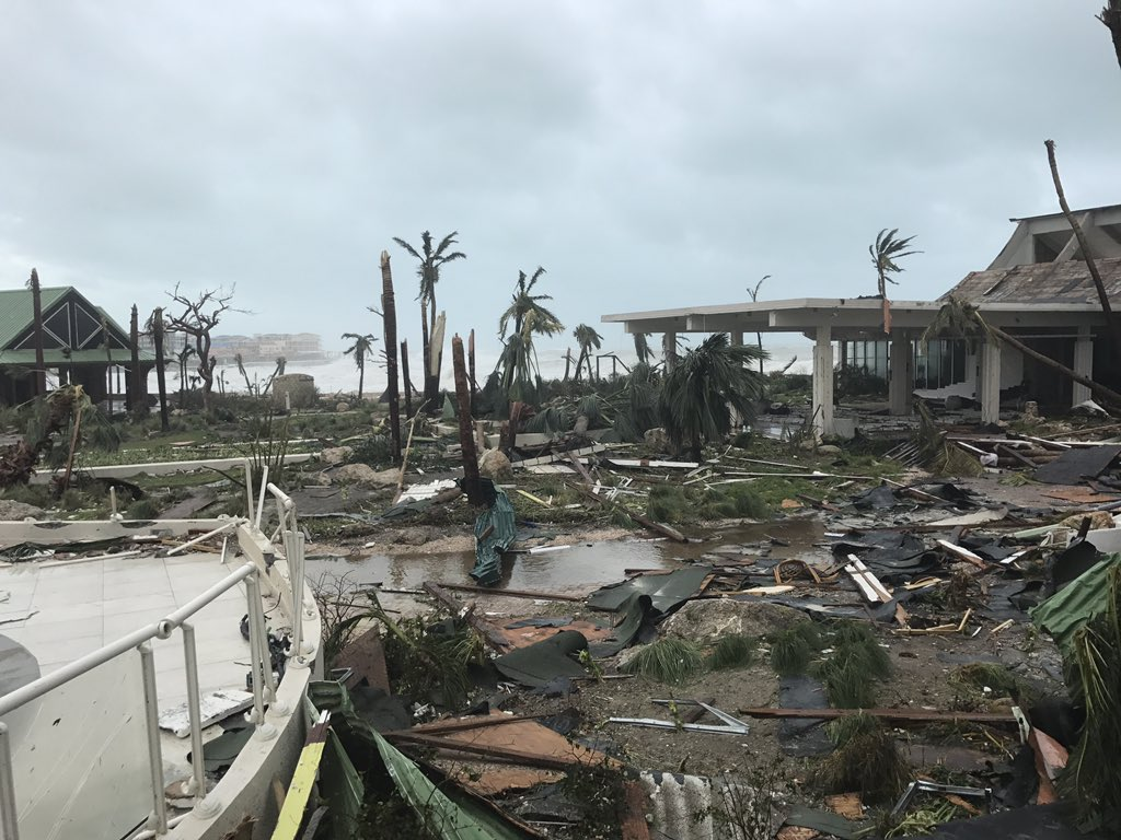 First Look at Damage From Irma-Slammed Fla. Keys