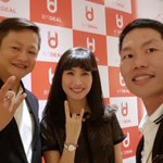 Image for the Tweet beginning: Bitdeal app launch event in