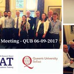 Fantastic meeting @QueensUBelfast today! Great to see our #ICAT fellows and hear inspiring talks by QUB academics