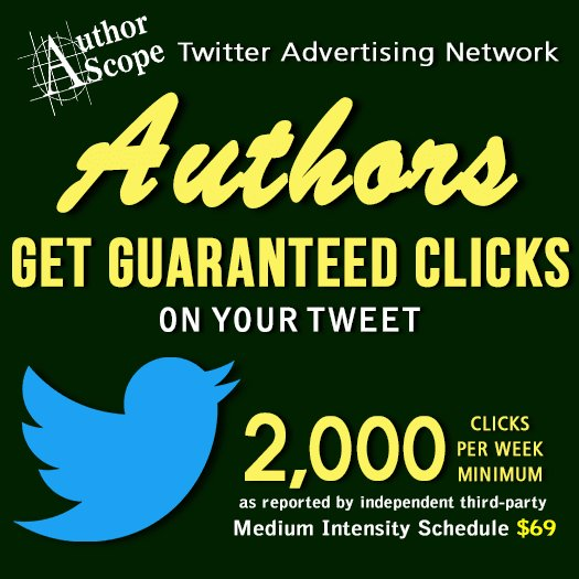 AUTHORS! Get 2,000+ GUARANTEED clicks on your Twitter book ad for just $69.  http:// smarturl.it/TWTad  &nbsp;   #authors <br>http://pic.twitter.com/S7vGxagBIp
