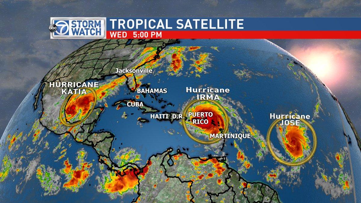 Caribbean Islands Suffer Huge Damage After Irma As It