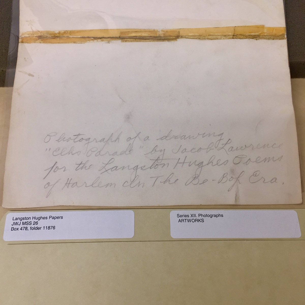 synthesis paper for langston hughes