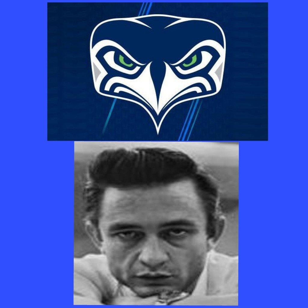 @Seahawks #Seahawks #GoHawks #alternatelogo Reminds me of Johnny Cash. Now he was a #badasspic.twitter.com/2wLbly9Qru