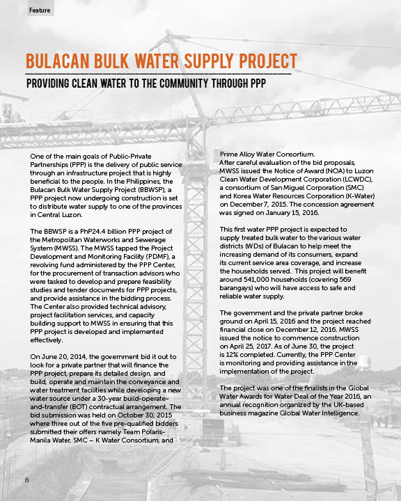 Ppp Center On Twitter Phpppproject Feature Bulacan Bulk Water