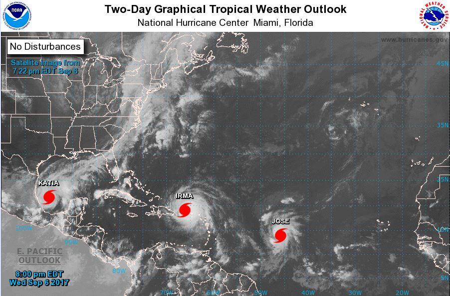 Hurricane Jose: Path of second major storm follows hot on heels of Hurricane Irma