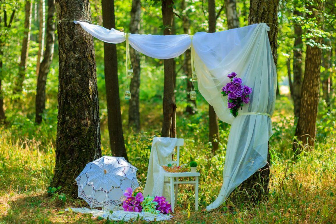 идеи оформление свадебной фотосессии шарики