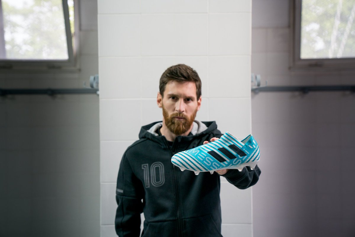 A #NEMEZIZ all his own.  Leo Messi is #HereToCreate