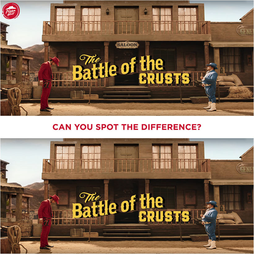 Can you spot the 3 differences below Tell us in the comments below IndiasMostWantedPizzas https t.co XAp9tpsxSG
