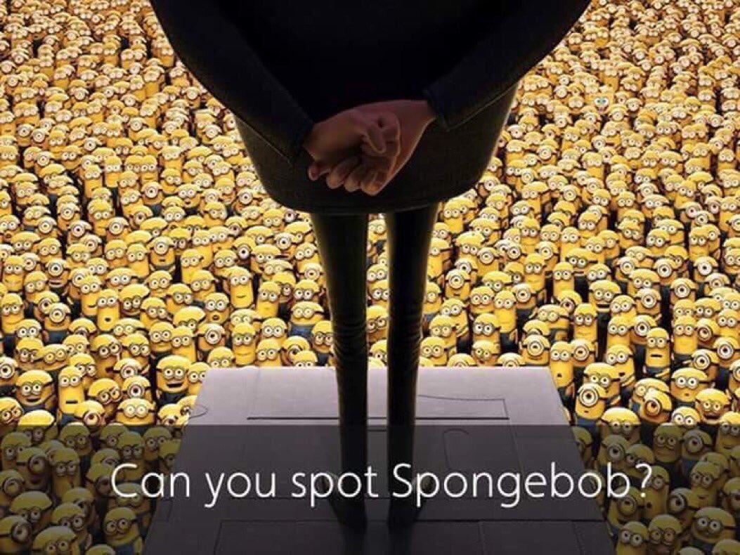 Retweet when you find SpongeBob https://t.co/Plf7elmdWh